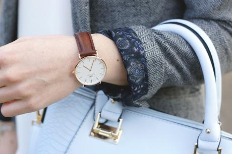 Hello Freckles Fashion Style Outfit NEbloggers Daniel Wellington