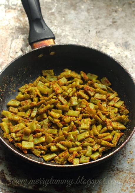 Beans Ki Subji: Indian Style Beans Stir Fry: Healthy Side