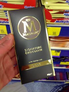 34f2cba46 Magnum Signature White Chocolate Review - Paperblog