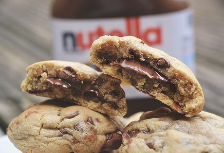 Recipe | Nutella Stuffed Cookies