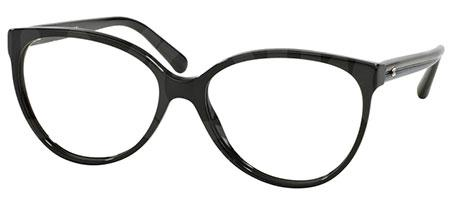 Oversized oval acetate model with nylon fiber temples