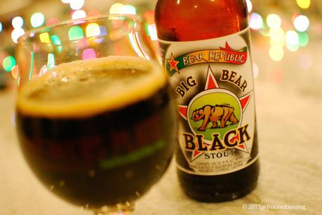 Beer Review – Bear Republic Big Bear Black Stout