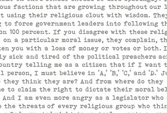 research paper on religion and politics