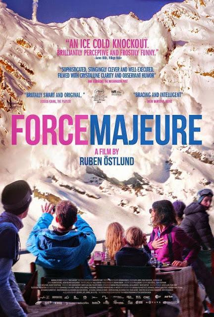 """177. Swedish director Ruben Östlund's """"Force Majeure"""" (Turist) (2014), based on his original story/script: Cowardice (and heroism) of an ideal father figure in a modern family"""