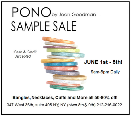 Shopping NYC: PONO Jewelry Sample Sale