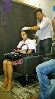 Experience #NioxinNowInIndia for a Scalp Facial