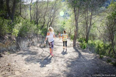 Fitness On Toast Faya Blog Girl Healthy Ibiza Balearic Bootcamp Holiday Active Travel Luxury Retreat Detox HIKE-2