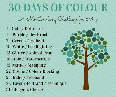 Creme/Color Blocking - 30 Days of Colour