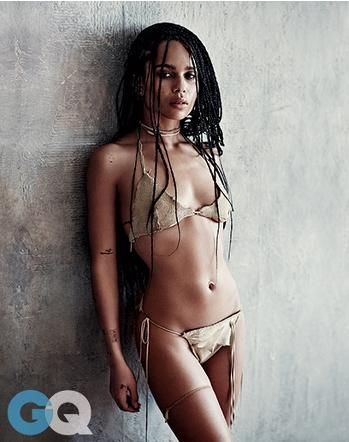 Zoe Kravitz Covers June's Issue Of GQ Magazine