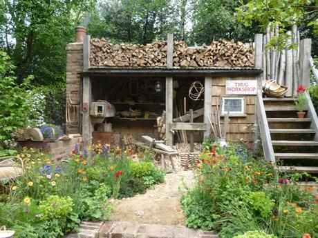 trugmaker stand at the Chelsea Flower Show