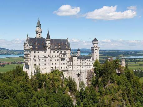 Schloss Neuschwanstein the cinderella castle in Germany