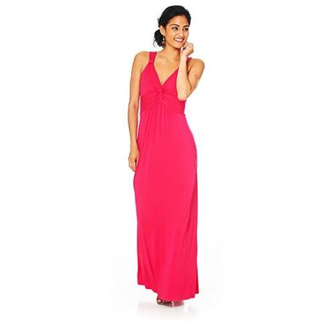 Spense - Knotted Neck Maxi Dress