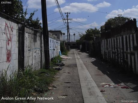Los Angeles Avalon Green Alley Network