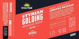 Styrian goldings single hop