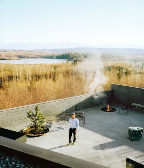 fire-pit-alaskan-l-shaped-cabin-photo-kamil-bialous-