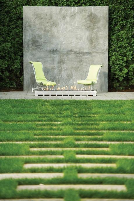 fire-pit-Doyle Herman Design Associates Landscape Desig