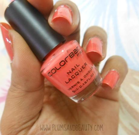 Colorbar Pro Mini Nail Lacquer : Peach Me Up