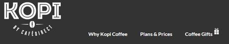 Kopi Coffee - Simple Navigation for SEO