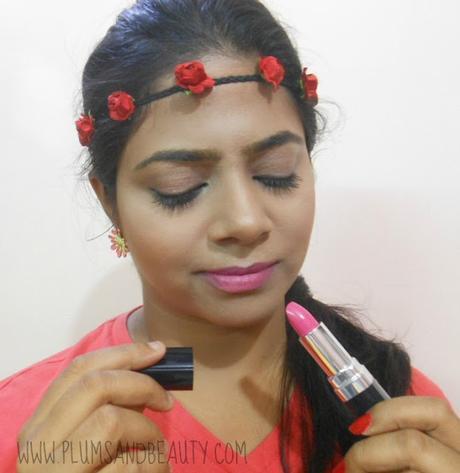 Chambor Powder Matte Lipstick #176 Pink Flamingo (Review)