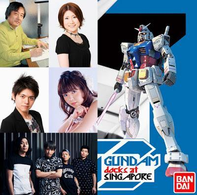 Meet Kunio Okawara and Gundam Seiyuu-s At Gundam Docks At Singapore Happening In June