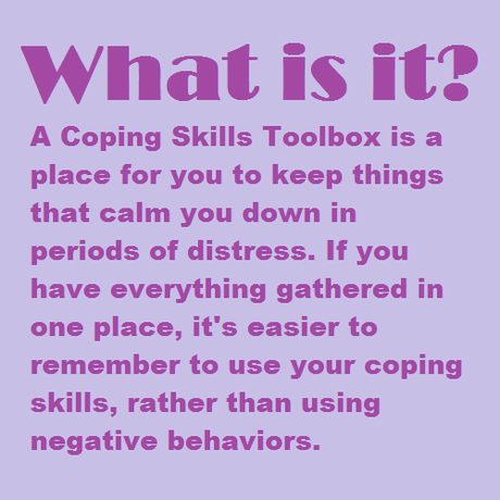 Let's make a Coping Skills Toolbox photo 2