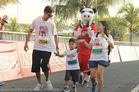 A Family Run and Celebration of Milk Day