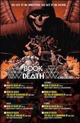 Book of Death Checklist