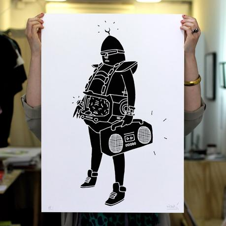 Kid Acne's new print is available at Boxpark