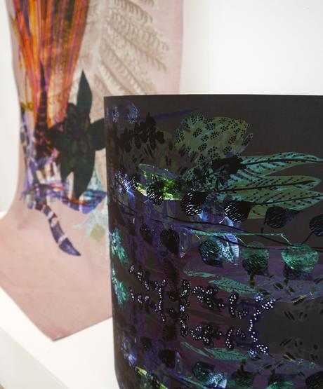 DJCAD, Duncan of Jordanstone College of Art and Design, degree show, Dundee, degree show 2015, #djcaddegreeshow, #djcaddegreeshow15, textile design, printed fabric, interior design, floral fabric, Emma McCluskey