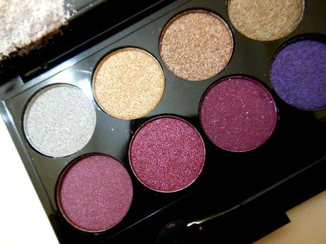 Sleek Vintage Romance I-Divine Eyeshadow Palette Swatches