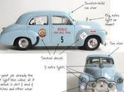 1953 Redex Trial Diorama Holden