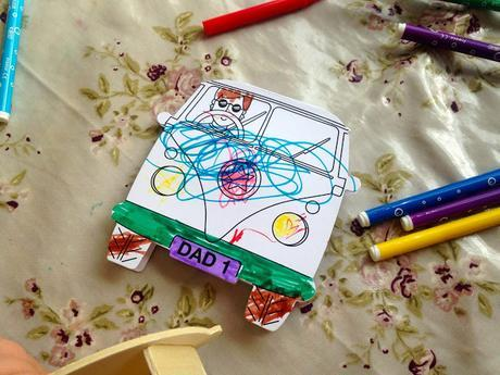 Father's Day crafts with Baker Ross