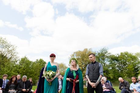 Furtho Manor Farm Wedding Photography Pegan Handfasting