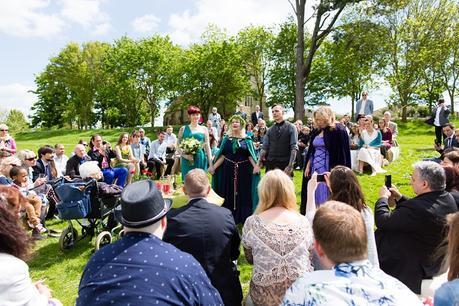 Furtho Manor Farm Wedding Photography Pegan Handfasting