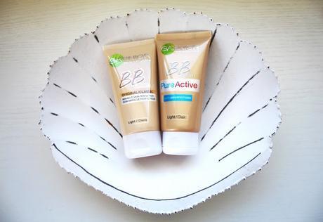 Garnier BB Cream: Original & Pure Active Review