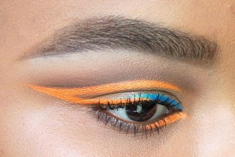 Festival Makeup: Neon Eyeliner