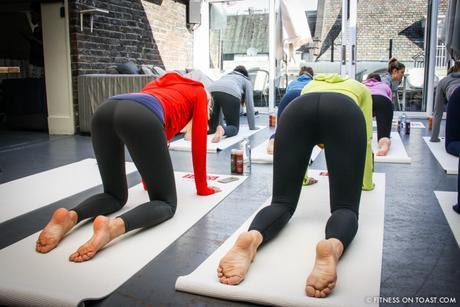 Fitness On Toast Faya Blog Girl Healthy Nutrition Workout Yoga Class Lifestyle Session Madeleine Shaw Uniqlo Fitness Range LifeWear Launch Event-7