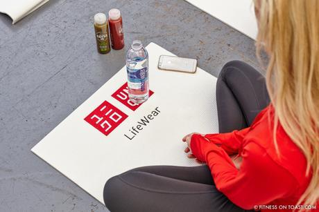 Fitness On Toast Faya Blog Girl Healthy Nutrition Workout Yoga Class Lifestyle Session Madeleine Shaw Uniqlo Fitness Range LifeWear Launch Event-3