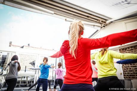 Fitness On Toast Faya Blog Girl Healthy Nutrition Workout Yoga Class Lifestyle Session Madeleine Shaw Uniqlo Fitness Range LifeWear Launch Event-6