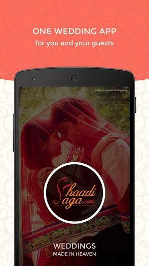 ShaadiSaga wedding app