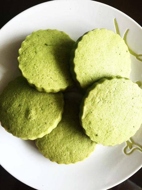 Green Tea Cookies (Matcha)