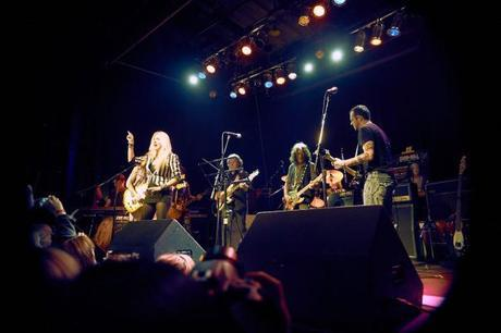 Joe Perry Rock & Roll Fantasy Camp All Star Jam at The Phoenix in Toronto Sass Jordan Glen Reichwein