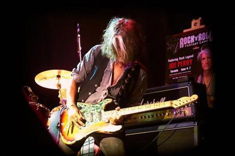 Joe Perry Rock & Roll Fantasy Camp All Star Jam at The Phoenix in Toronto Glen Reichwein