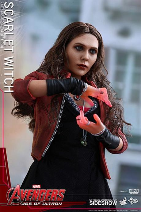 Hot Toys Unveils new Avengers: Age of Ultron Scarlet Witch Figure