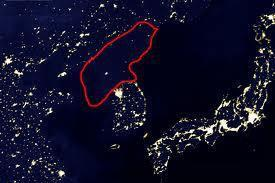 Last year, the space station took this photo of North Korea which then made the rounds of all the Western media. One problem with the photo? It's a lie!
