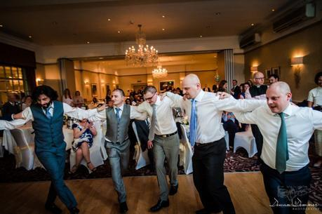 Wedding Greek dancing