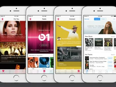 Apple Music App sets to rival Spotify
