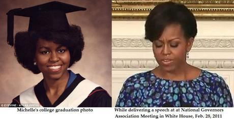 Michelle Obama's nose job