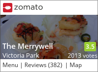Click to add a blog post for The Merrywell on Zomato