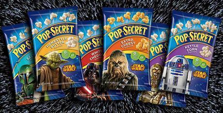 Pop Secret Pre-popped Popcorn —Star Wars!